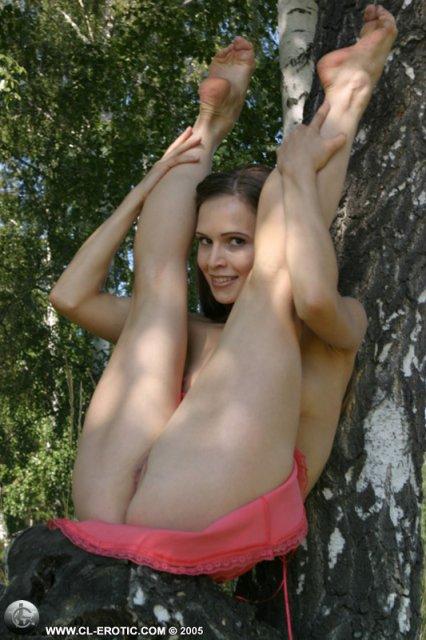 Ебля бритых пизденок гимнасток 0 фотография