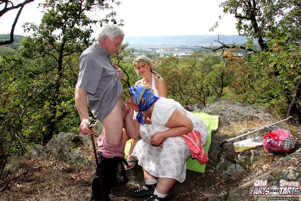деда внучка деревне порно в у