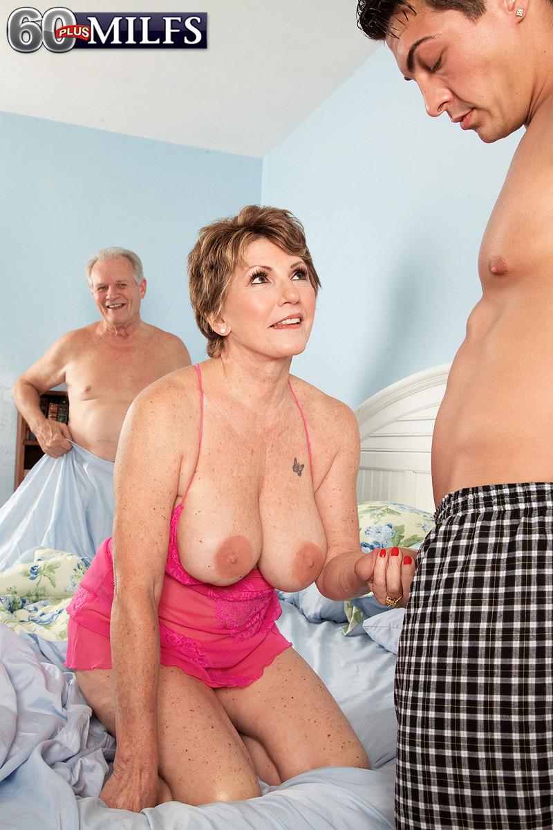 большие тещи порно