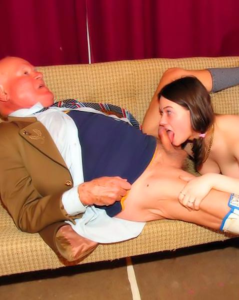 Секс дедушка дочка