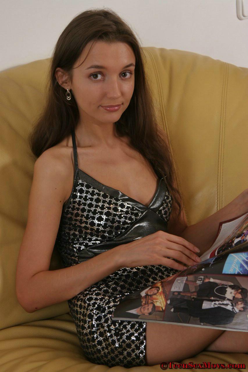 Украинку в одежде ебут 45