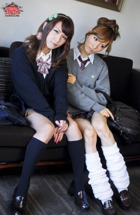 Трансвеститы Японские